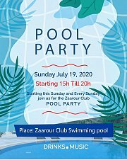 Pool Party at Zaarour Club