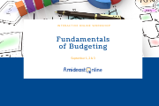 Online Fundamentals for Budgeting Workshop