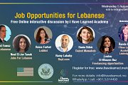 Jobs for Lebanese - Online Free Discussion with Experts by I Have Learned Academy
