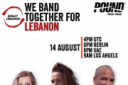 """We Band Together for Lebanon"" Online Pound Fitness Session"