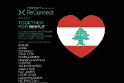 """Together For Beirut"", DJ Fundraiser Live Stream X Electronic Music"