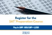 SAT® Preparation Course - Monday to Friday - September 1 - 12