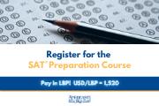 SAT® Preparation Course - 7 Weekends - September 11 - October 24