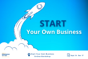 """Start Your Own Business Workshop"" Online Sessions with Amideast"