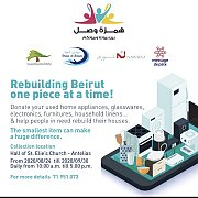 Rebuilding Beirut one Piece at a Time