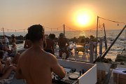 "SunSet with ""DJ Abaky"" Buddha Bar Dubai's resident DJ and ""DJ Gilbert""!"