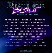 Beats for Beirut - Virtual Music Festival Fundraiser