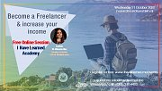 Become a Freelancer & increase your income - Free Online Session by I Have Learned Academy