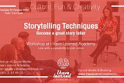 Storytelling Techniques Workshop at I Have Learned Academy