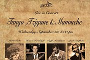Tango, Tzigane & Manouche Concert Live At Yardbird