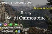 Footprints Hiking in Wadi Qannoubine