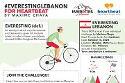 Everesting Lebanon for Heartbeat by Maxime Chaaya
