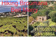 Hiking Broumana to Beit Mery with Golden feet