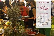 Sunday Buffet at Jneynet Beit Bechara by Muscat Catering