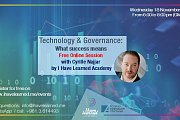 Technology and Governance: What success means - Free Online Session with I Have Learned Academy