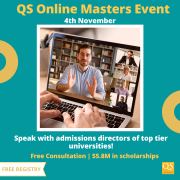 QS Online Masters Event 2020