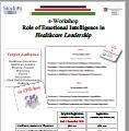 E-Workshop Role of Emotional Intelligence in Healthcare Leadership