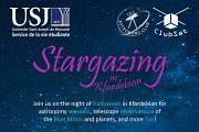 Halloween Stargazing Event with the USJ Astronomy Club