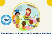 The Magic of Songs in Teaching English (Online Workshop) by IABC
