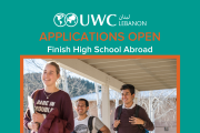 UWC Lebanon Applications 2020 - High School Scholarship Program