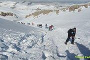 Warde Kfardebian Snowshoeing with Vamos Todos