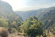 Hiking at Wadi el Saleeb Valley