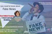 All you need to know about Fake News - Free Online Session - I Have Learned Academy