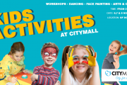 Kids activities at CityMall