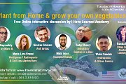 Plant from home & grow your own vegetables - Free Online Panel Discussion - I Have Learned Academy