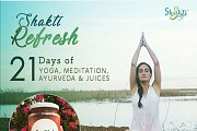 21 Days of Yoga, Ayurveda, Breathing and Meditation