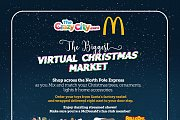 Virtual Christmas Market and Streamed Shows by The Crazy City