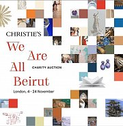 """""""We are All Beirut"""" a Charity Auction by Christies"""