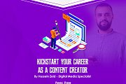 Kick start your Career as a Content Creator with Global Entrepreneurship Week
