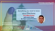 Everything you need to know about ELECTIONS- Free Online Session with I Have Learned Academy