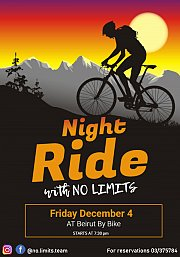 NLT Night Ride with Beirut by Bike