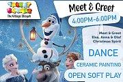 Meet & Greet Elsa ,Anna & OLAF at The Village Dbayeh