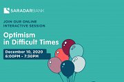 Optimism in Difficult Times - Free Online session by I Have Learned Academy & Saradar Bank