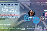 HR Trends of 2021 - A Discussion with Tom Haak (HR Trend Institute) by I Have Learned Academy