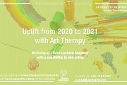 Uplift from 2020 to 2021 with Art Therapy - Workshop with I Have Learned Academy