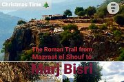 Hiking the Roman Trail from Mazraat el Shouf to Marj Bisri with GREEN STEPS