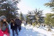 ARZ HADATH Snowshoeing with DALE CORAZON - LEBANON EXPLORERS