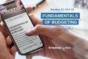 Online Fundamentals of Budgeting Workshop