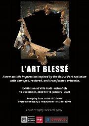 """L'Art Blessé"" - Exhibition at Villa Audi"