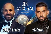 Naji Osta and Adam Live on NYE at Le Royal