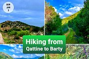 Hiking Trail From Qattine to Barti with Green Steps