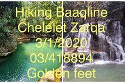 Hiking Baaqline Chelelet Zarqa with Golden feet