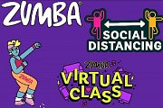 Virtual Zumba class with Hind Walieddine
