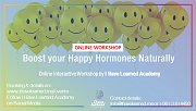 Boost your Happy Hormones Naturally - Online Workshop by IHL