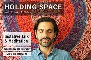 Holding Space Live Talk & Meditation
