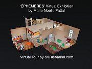 'Éphémères' Virtual Exhibition by Marie-Noelle Fattal